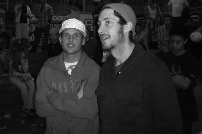 the States featured Rob Dyrdek challenging Steve Berra to a 'Berrics vs.